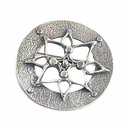 Silver Art Deco Brooch