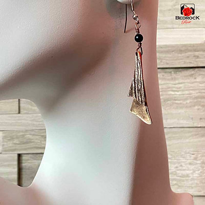 Ravishing Double Layer Dangling Earrings