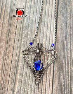 Fine-Wire-Weave-Blue-Svaroski-Pendant