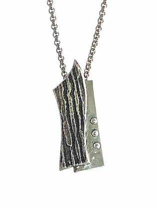 Stylish Handcrafted Silver Pendant