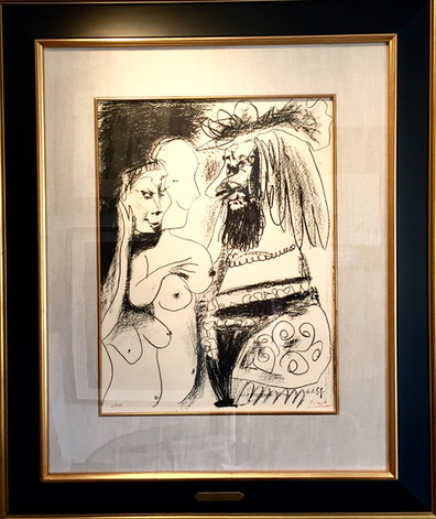 """Picasso, """"Le Vieux Roi"""" (The Old King)1959"""