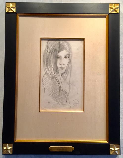 Flapper/Elegant Lady with Long Hair