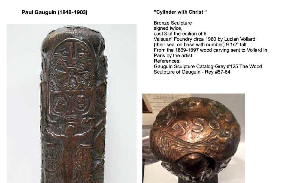 gauguin/cylinder of christ