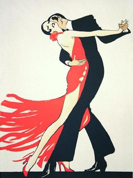 """Rene Gruau """"Tango"""""""