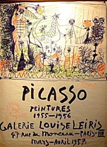 Peintures Exhibition Poster