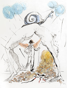 Apollinaire - Woman with Snail