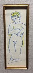 """Picasso, """"Standing Boy"""""""