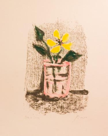 Fleurs dans un Verre No 6