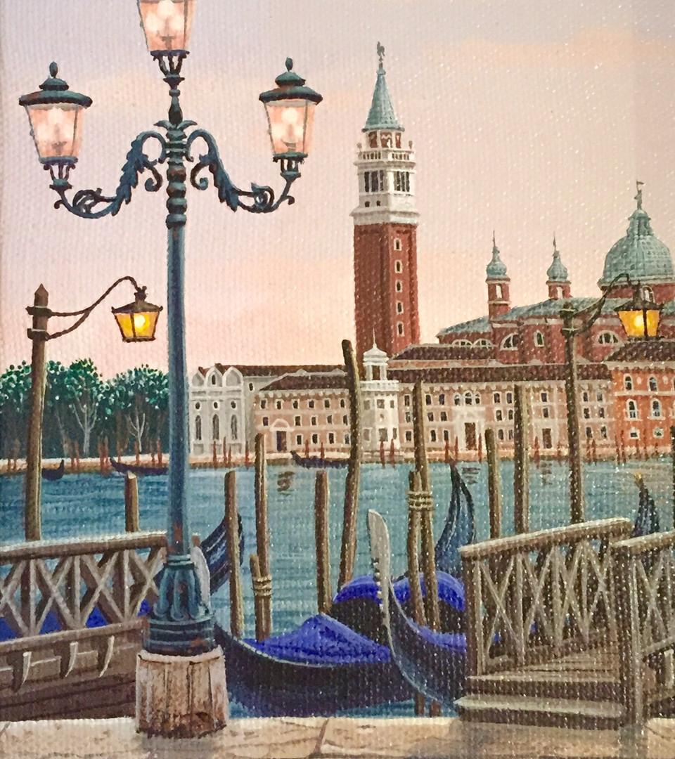 """Venice at Dusk"" detail"