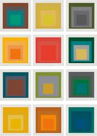 Josef Albers- Squares