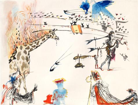 Burning Giraffe