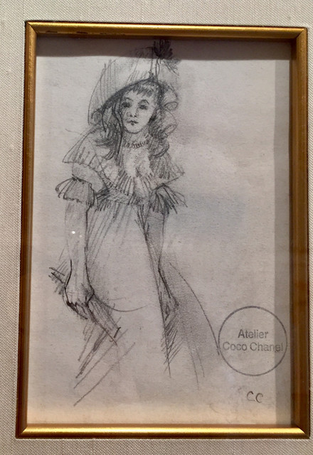 Mademoiselle (Small Standing Lady)