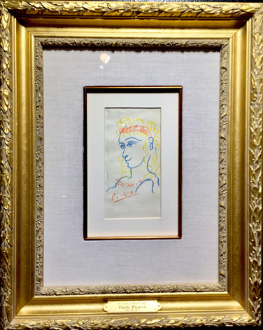 """Picasoo, """"Bust of Young Girl"""""""