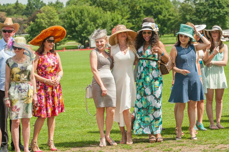 Hat Day at the Oakbrook Polo Club
