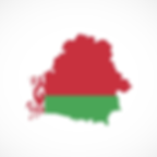 Belarus flag country map