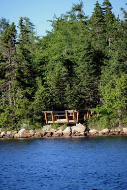 Sitting area Porter's Lake