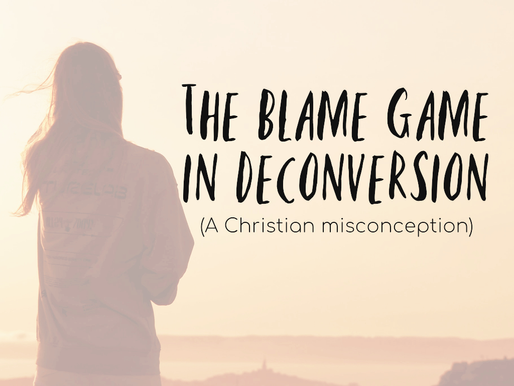 The Blame Game in Deconversion