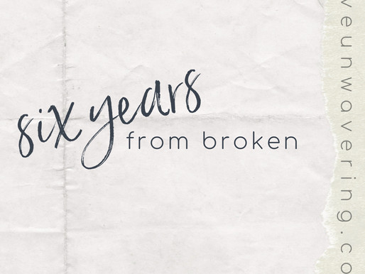 Valley Notes: Six years from Broken