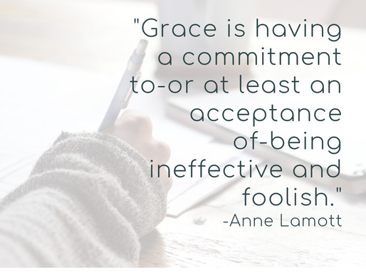 A Favorite Quote on Grace