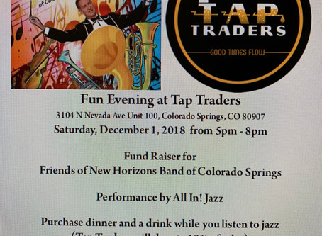 Annual Fundraiser at Tap Traders