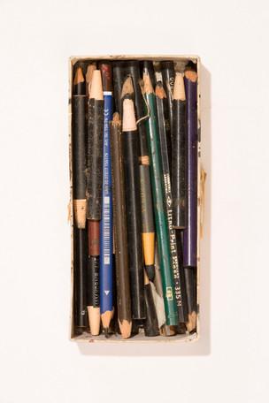 vários lápis