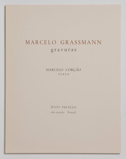 Álbum -Marcello Grassmann - gravuras, 1968