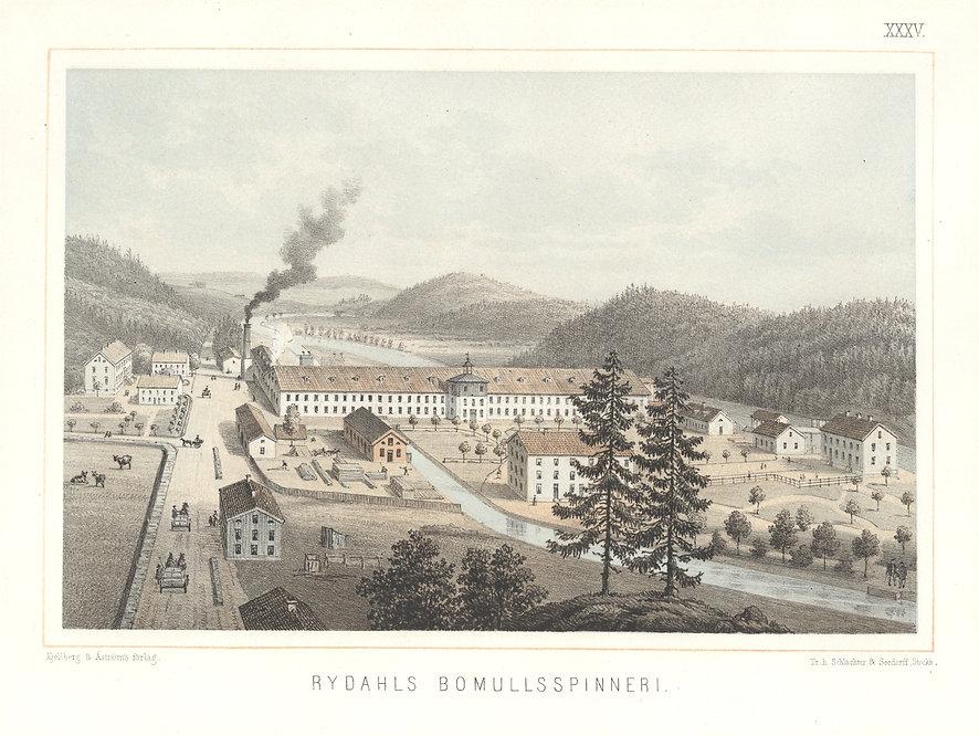 Rydals Bomullsspinneri 1800-tal.jpg