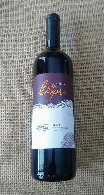 Vinho Bordô de mesa suave (720ml)
