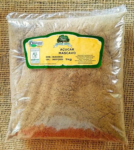 Açúcar mascavo orgânico (1kg)