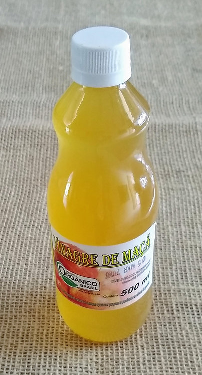 Vinagre de maçã orgânico (500ml)