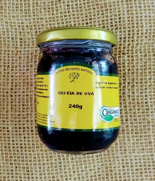 Geleia de uva orgânica (240g)