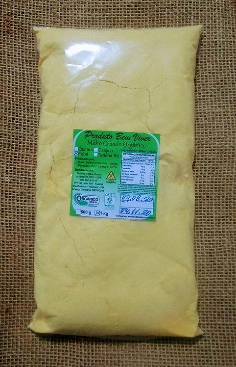 Fubá orgânico (1kg)
