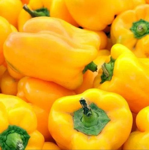 Pimentão amarelo orgânico (500g)