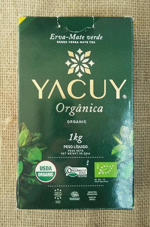 Erva-mate verde orgânica (1kg)
