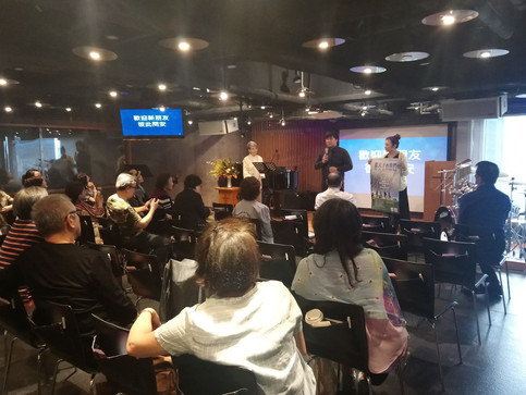 【藝人之家教會】協助天藝秋季戲劇《藍天下的我們》演出宣傳