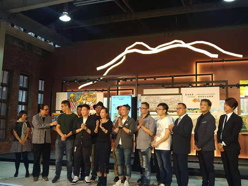 團長受邀參加《香港插畫X創意設計品牌展》開幕典禮