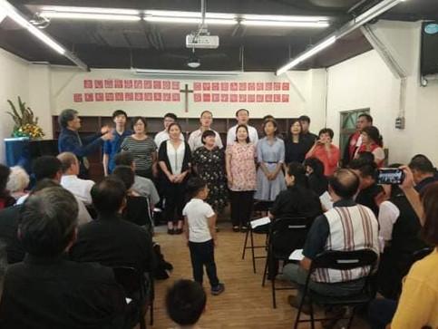 林慶台傳道師封牧禮--天藝受邀組團前往祝賀