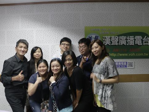 【陋巷】演職員接受漢聲電台專訪