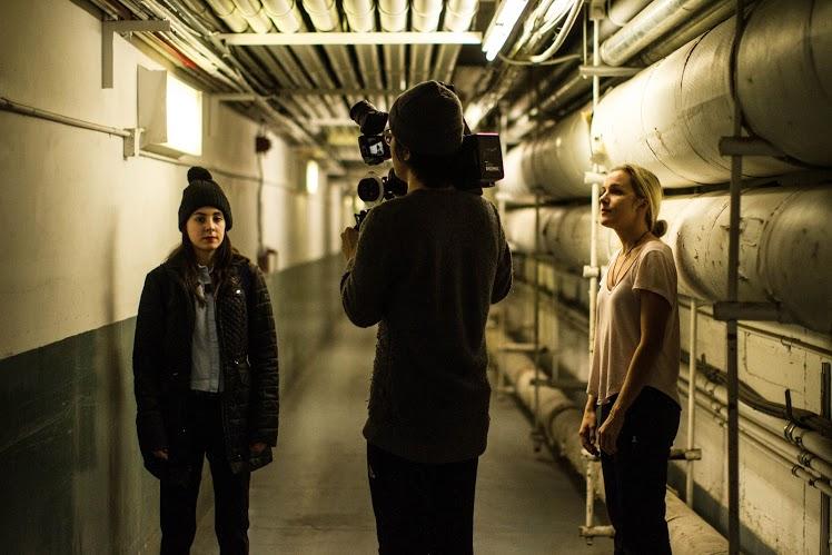 BTS of NYU grad short film Mira