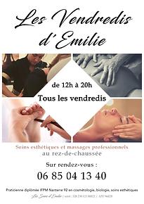 AFFICHE EMILIE Rue Clappier A4 version 0