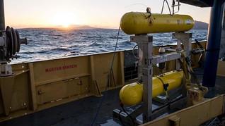 AUV (autonomous underwater vehicle) used