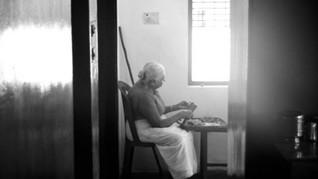 Southern #Kerala, grandma helps prepare