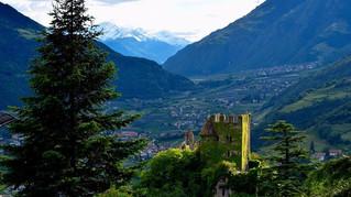 Merano, South Tyrol, North Italy #castle