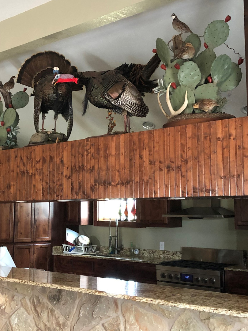 Texas Hunting Lodge Kitchen Support