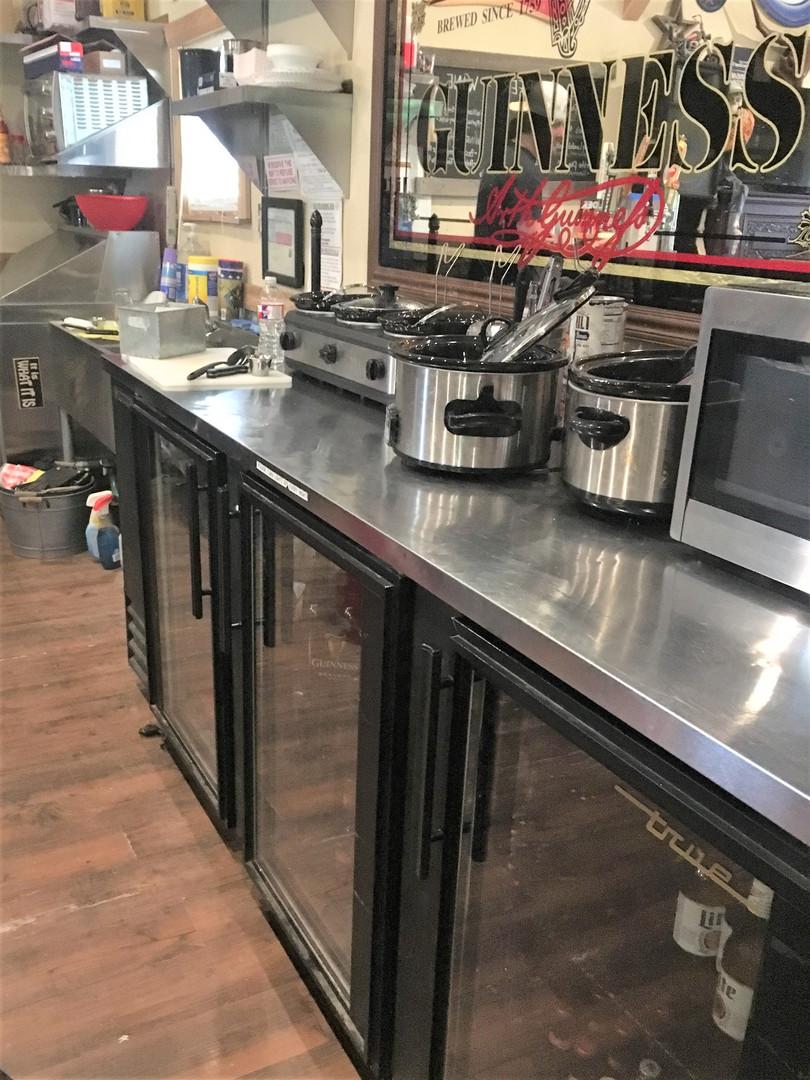 Trading Post Kitchen Service Prep Table