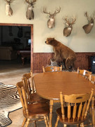 Dining Room for Hunting Lodge Air Conditioning and Ice Maker Repair