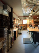 Art Studio Custom Lighting Electrical and Mini Split Air Conditioning