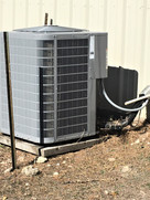 Air Conditioning Unit at Hospitality Center Game Ranch