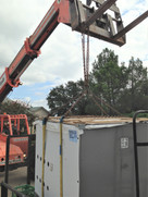 Commercial Air Conditioner Roof Top Install