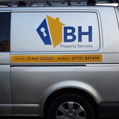 BH Property Services van